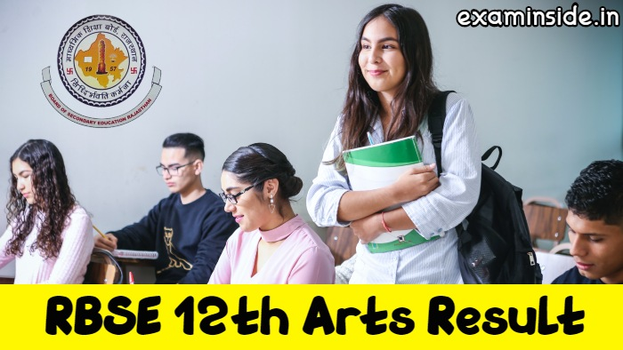 RBSE 12th Arts Result 2021