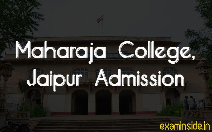 maharaja college jaipur admission