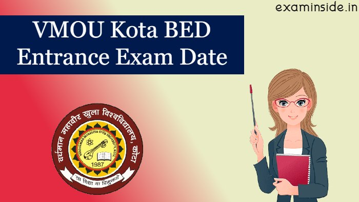 vmou bed entrance exam date