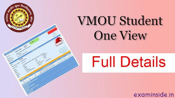 vmou student one view