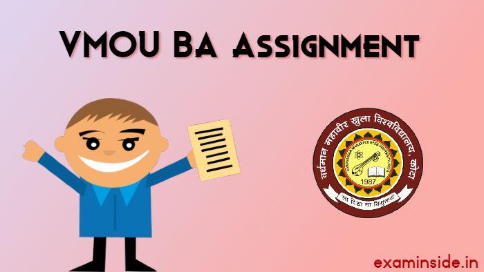 vmou ba assignment