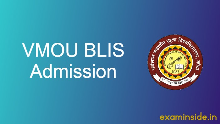 vmou blis admission 2021