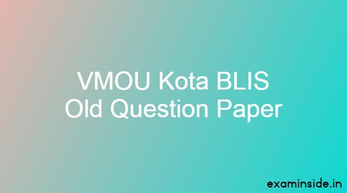vmou blis old paper