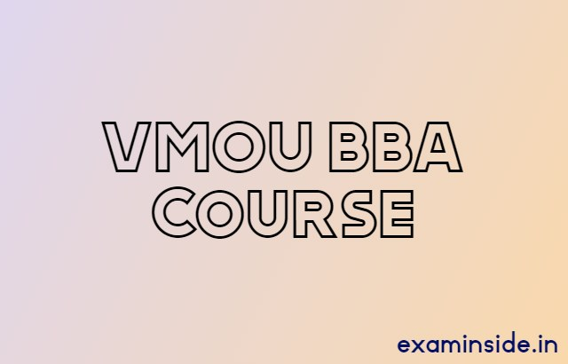 vmou bba syllabus assignment admission 2021