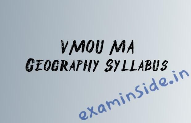 vmou ma geography syllabus