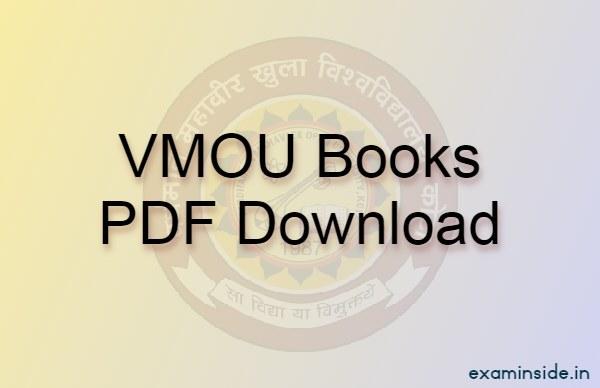 vmou books download pdf