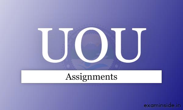 uou assignment 2021