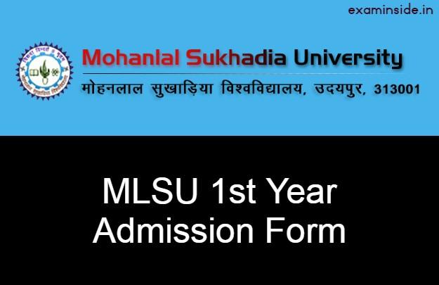 mlsu 1st year admission last date 2021