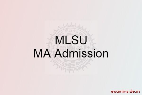 mlsu ma admission 2021